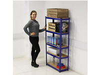 5 Tier Metal Heavy Duty Boltless Warehouse Storage Shelves . Can hold 150 KG Weight