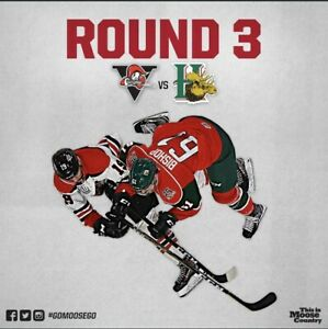 LB Mooseheads Tickets Game 3 Tonight 7pm!