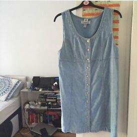 denim dress £20