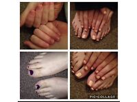 Gel polish home appointments available