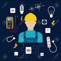 Electrician Available for Work and Small Jobs