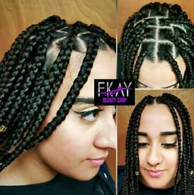 Braiding/ Hairdressing