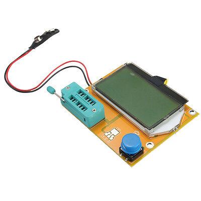 Lcr-t4 Esr Meter Transistor Tester Diode Capacitance Scr Inductance Dt