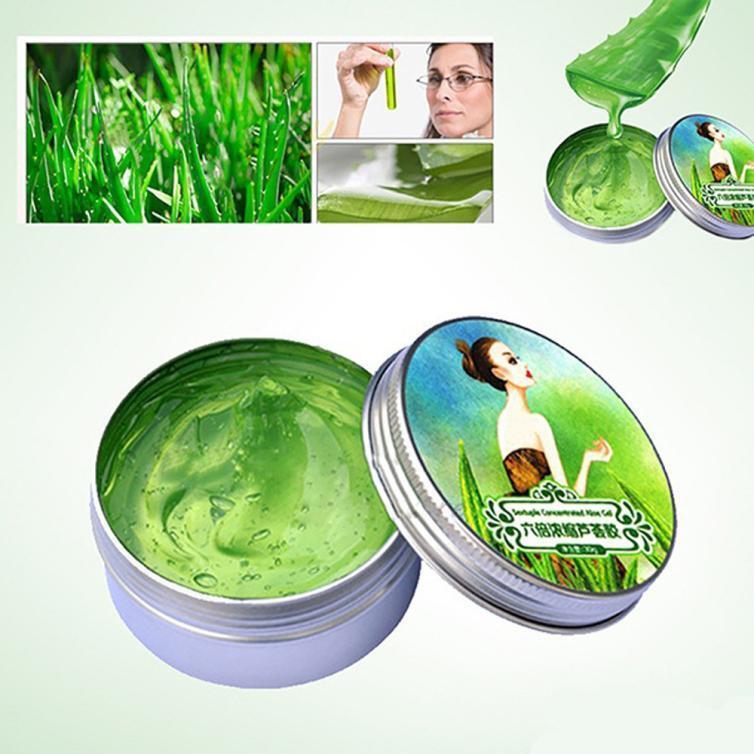 Aloe Vera Gel Cream Remove Acne Oil Control Moisturizing Mask Face Care Soothing