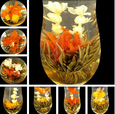 16  Kinds Artistic Chinese Blooming Flower Tea Gift Ball Jasmine Tea Blooming