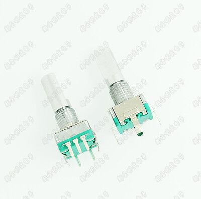 1pcs Rotary Encoder With Switch Ec11 Audio Digital Potentiometer 20mm Handle S8