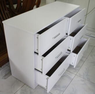 Fantastic Lowboy with 6 Drawers, 110(W) X 40(D) X 72(H) cm Condell Park Bankstown Area Preview