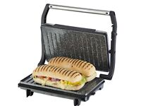 Tower Cerastone T27016 Panini Maker and Grill with Non-Stick Ceramic Coating