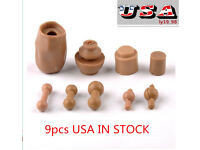 1:6 Scale Figure Neck  Joint Connectors Adapter Model Fit 12/'/' Female//Male Body