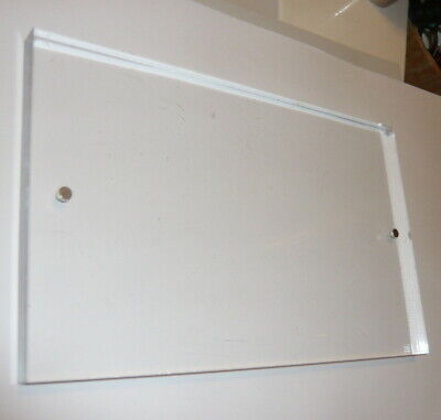 Clear Acrylic Plexiglass Sheet Plastic 5 X 8 716 Lathe Block Or Plaque Blank