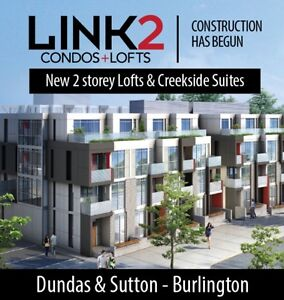 NEW Link 2 Garden Villas on Dundas St in Burlington!