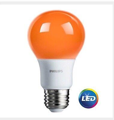 Halloween Light Bulb (Philips Orange Light Bulb LED 8 W Porch  Party Halloween Patio)