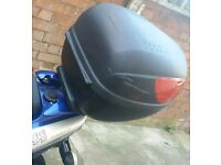 Scooter Luggage Top Box Madness 50Cc