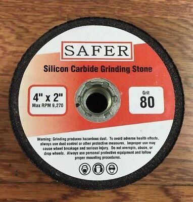 Silicon Carbide Stone Grinding Cup 4 X 80 Grit