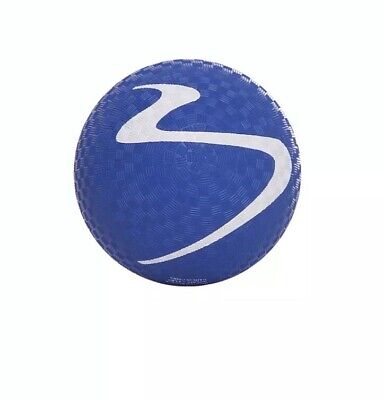 "NEW! 6"" SQUISHY BALL-BLUE: LEGS,LOWER ABS,PILATES,KIDS,PLAYGROUND,BACK PAIN"
