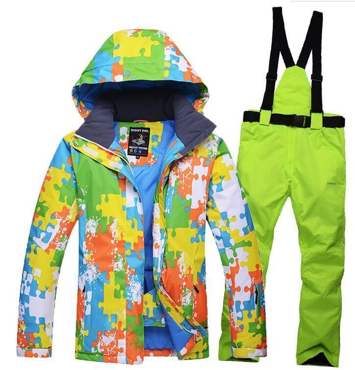 Men Adults Warm Coats Waterproof Clothing Outdoor Ski Snowbo