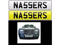 NASSERS private number plate cherished - NA59ERS
