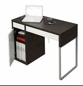Ikea MICKE desk Brown/White