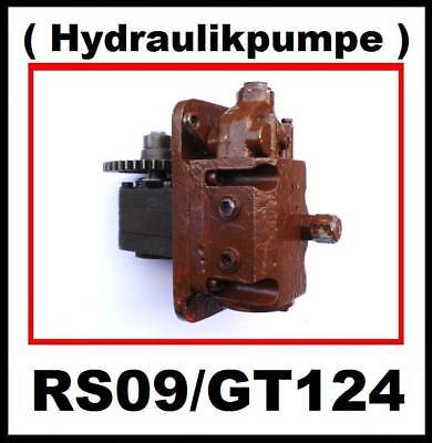 RS09 RS 09 GT124 Pumpe Steuerblock ( Hydraulikpumpe ) Zahnradpumpe