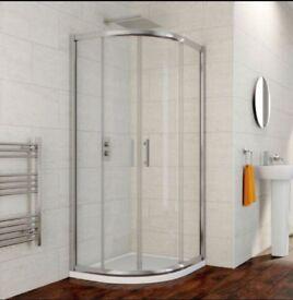 Reduced: quadrant shower enclosure BNIB