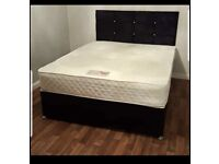 🔥🔥SALE!! CLEARANCE EVERYTHING MUST GO! Brand new divan beds with mattress & free DELIVERY! 🔥🔥