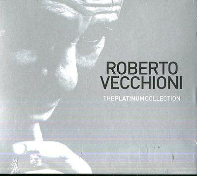 Vecchioni Roberto - The Platinum Collection Box 3 Cd New Sealed