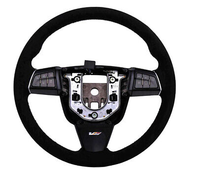 2009-2015 Cadillac CTS-V Genuine GM Automatic Suede Steering Wheel