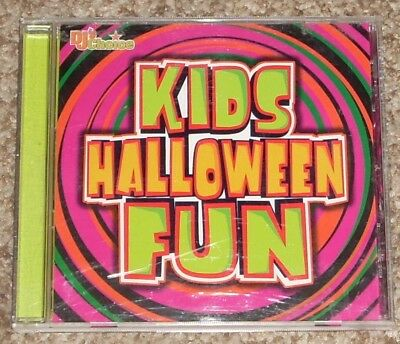 DJ's Choice Kids Halloween Fun Party Music CD - Fun Halloween Music