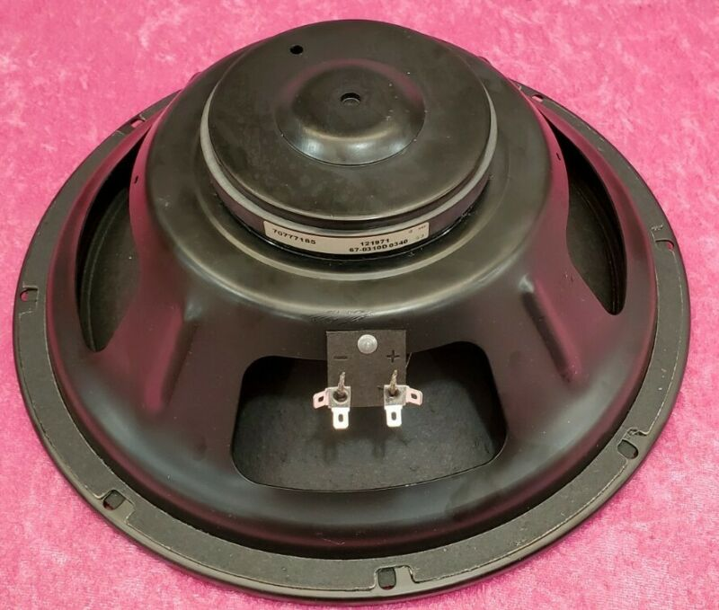 Eminence OEM unbranded Peavey 12 inch Bass Guitar Driver 8 Ohm 75 Watt 70777185