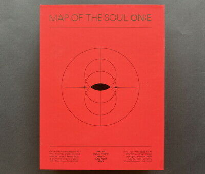 BTS-MAP OF THE SOUL ON:E DVD+BOOK+HOLOGRAM PHOTO TICKET SET ONLY