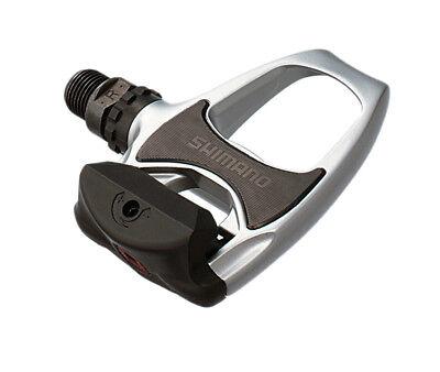 einstellbare Auslösehärte SHIMANO Rennrad Pedal PD-R540 SPD-SL silber