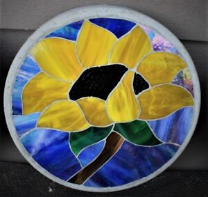 Stained Glass Garden Stones
