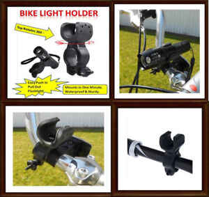 New Bike Handlebar Flashlight Holder (Chilliwack)