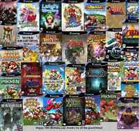 Buying all gamecubes games