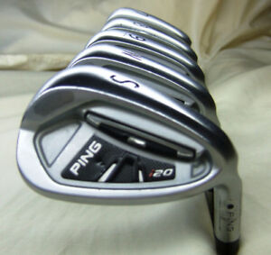 Ping i20 irons ... actual pictures posted