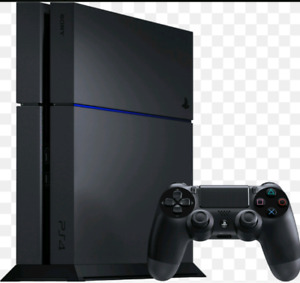 Ps4 with games: mint condition