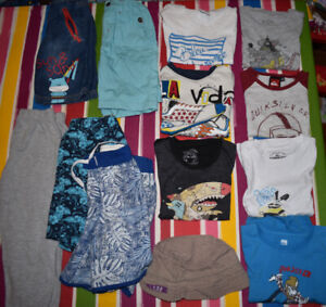 bundle of 13 clothes size 3-4 years in VGUC : desigual, quicksil