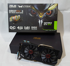 GTX 970 Strix 4GB Graphics Card