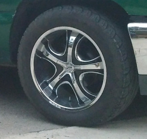 """Summer 20 """"  Chrome Rims and Rubber"""