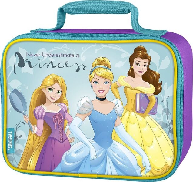 BNWT: Thermos Soft Lunch Kit, Disney Princesses