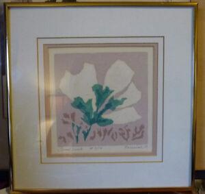 "Original Serigraph by Grace Perreiah ""Good Luck"" L/E 7/14 Stratford Kitchener Area image 1"