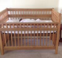 Crib- cedar wood