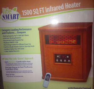 radiant space heater