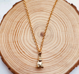 Moomin Gold Charm Necklace