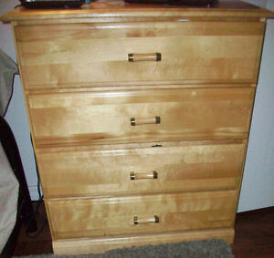 Twin pine bedroom set