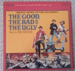 60's The Good The Bad The Ugly Soundtrack vinyl record
