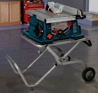 """▀▄▀▄ █▓▒░BANC de SCIE- SUPPORT BOSCH 10""""BOSCH - TABLE SAW STAND"""