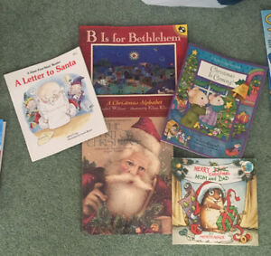 Christmas Themed Books (5)