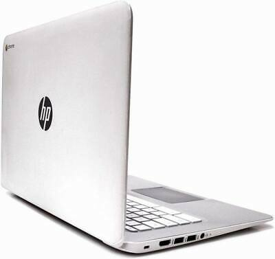 "HP Chromebook laptop 14"" White 32GB SSD 4GB  HDMI Usb 3  WiFi webcam Chrome OS"