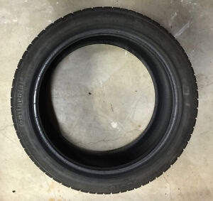 Set of Four 245-40/18 Continental Winter Contact tires